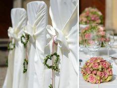 Stühle dekorieren, verzieren und gestalten für Hochzeiten und Events