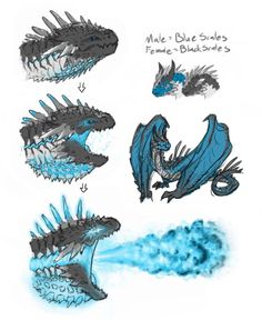 Dragon Plasma Breath by Krocodilian on DeviantArt Monster Concept Art, Fantasy Monster, Monster Art, Mythical Creatures Art, Mythological Creatures, Creature Concept Art, Creature Design, Fantasy Dragon, Fantasy Art