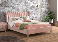 Knox Upholstered Bed Frame | 4'6 Double | Size | Dreams