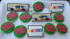NASCAR Dale Earnhardt Jr or other racers Custom by GetBakedBakery