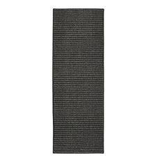 "Mohawk Home San Juan San Juan Black/Charcoal Area Rug (1'8x5') (Black/Charcoal), Size 1'8"" x 6'10"" (Polypropylene, Solid)"