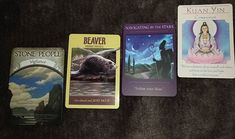 I felt the urge to draw four Oracle cards for you all today. I guess someone needs the message.