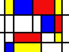 "Pieter Cornelis ""Piet"" Mondriaan, after 1906 Mondrian was a Dutch painter. He was an important contributor to the De Stijl art movement and group, which was founded by Theo van Doesburg. Piet Mondrian Artwork, Theo Van Doesburg, Ecole Art, Name Design, Kindergarten Art, Art Graphique, Geometric Designs, Art Plastique, Art Lessons"