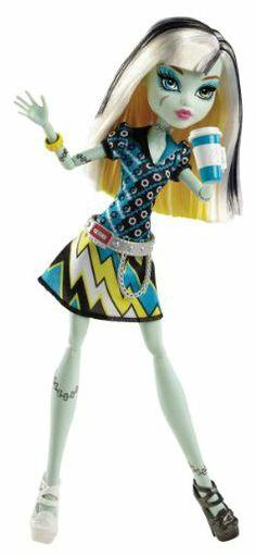 Monster High Coffin Bean Frankie Stein Doll - Free Shipping