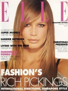 Covers of Elle Singapore with Claudia Schiffer, 000 1993 | Magazines | The FMD #lovefmd