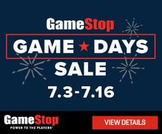 New Offers and Deals: 50% OFF SALE at GameStop  BUY NOW  OFFERS VALID 7/3/17  7/16/17 UNLESS NOTED OTHERWISE.  Offers and prices valid in Continental U.S. only. All prices in U.S. dollars. Offers cannot be combined with any other offer or discount. Some offers not valid on GameStop.com or EBgames.com. Selection may vary by store. All dates and prices are subject to change. Not responsible for typographical errors price variances or manufacturer delays. PC products not available in all…