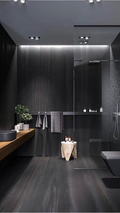 Luxury Bathroom Master Baths Dreams is unquestionably important for your home. Whether you pick the Luxury Bathroom Master Baths Beautiful or Luxury Master Bathroom Ideas, you will make the best Small Bathroom Decorating Ideas for your own life. Bad Inspiration, Bathroom Inspiration, Interior Design Inspiration, Home Interior Design, Design Ideas, Ikea Interior, Layout Design, Font Design, Interior Door
