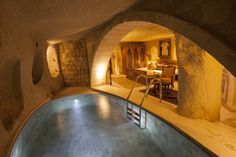 Cave Bedroom with Pool