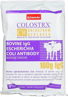Colostrx CR Colostrum Replacer 500 gm