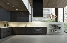 Fitted kitchens | Kitchen systems | Pheonix | Varenna Poliform. Check it out on Architonic