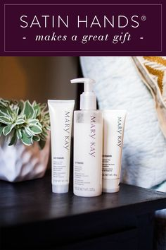 Mary Kay® Fragrance-Free Satin Hands® Pampering Set is all you need to help keep hands feeling renewed, soothed and pampered. Gift one set for a loved one and keep one for yourself!