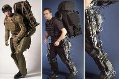 5. The Berkeley Lower Extremity Exoskeleton (BLEEX)