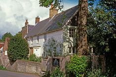 Virginia Woolf and her husband lived together in Monk's House, a serene 17th-century clapboard cottage in East Sussex, England, from 1919 until her untimely death in 1941. Here she worked on such novels as Mrs. Dalloway and To the Lighthouse and also held her famous Bloomsbury Group meetings, entertaining such luminaries as T. S. Eliot, E. M. Forster, and Lytton Strachey.