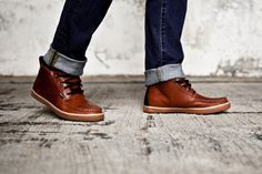 Leather Shoes are back with a vengeance this fall.