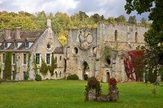 Abbaye des Vaux de Cernay - les ruines de l'abbatiale