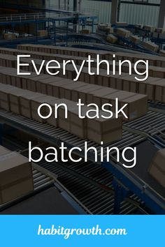 No matter how you want to organize your work, task batching makes it easy to stay focused on productivity. It's an easy strategy you can implement today. Time Management Techniques, Good Time Management, Productivity Apps, Increase Productivity, Simple Definition, Social Media Updates, Time Is Money, Blog Writing, Online Business
