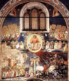 The Last Judgment, Giotto di Bondone, Fresco, 1305-1310, Arena Chapel