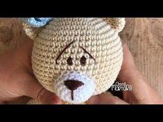 Como fazer amigurumi de crochê - COMO FAZER OLHOS BORDADOS EM  AMIGURUMIS - YouTube