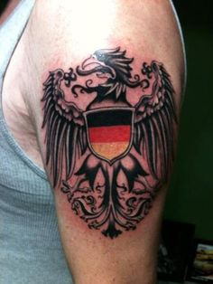 german eagle tattoo | ...