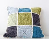Colourful Cushion/Pillow cover - Granny Chic