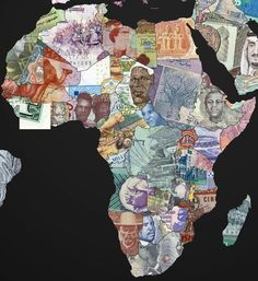 World Maps Created with Country's own Currency