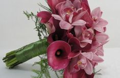 Callas e orquídeas