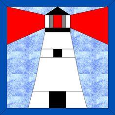 Lighthouse 5 Pillow Pattern