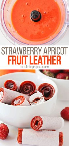 This deliciously sweet strawberry apricot fruit leather is so easy to make at home, and is the perfect way to use some of that fresh summer fruit! Baby Food Recipes, Snack Recipes, Dessert Recipes, Desserts, Apricot Fruit, Toddler Meals, Toddler Activities, Food Stamps, Play Food