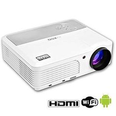 #WiFi #Wireless #Portable LED Projector LCD projection Support HD 1080P #Video #Home #Theater #Cinema for Laptop Mac Iphone Galaxy