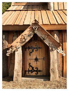 Asatru Temple entrance. #viking #temple #odinism