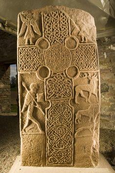 Eassie sculptured stone. #scotland
