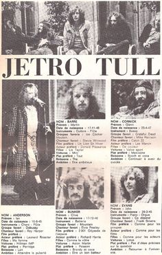 Joe Cocker, Grateful Dead, Thick As A Brick, Catch, Marvin, Jethro Tull, Great Memories, Great Bands, Classic Rock