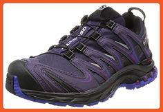 Salomon XA Pro 3D Gore-Tex Women's Trail Running Shoes - AW16 - 8.5 - Purple - Sneakers for women (*Amazon Partner-Link)