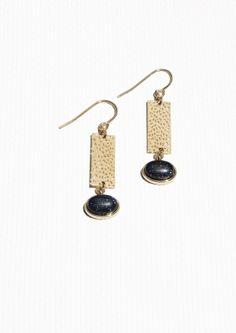 & Other Stories | Brass Earrings