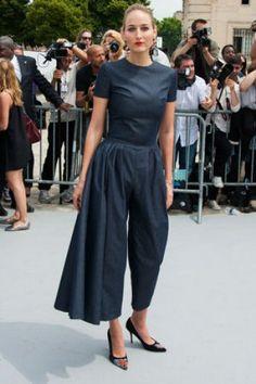 Fashion week : Lelee Sobieski au défilé Christian Dior