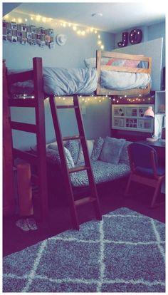 Elegant College Dorm Room Design Ideas That Suitable For.- Elegant College Dorm Room Design Ideas That Suitable For You - Cute Dorm Rooms, College Dorm Rooms, Cool Rooms, Cute Room Ideas, Cute Room Decor, Room Decor For Teen Girls, Dorm Room Designs, Bed Designs, Design Room