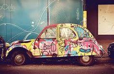 hippie eendje