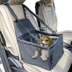 Legendog Dog Car Seat,Pet Portable Travel Car Seat Safety Bag,Waterproof Travel Carrier Bag Cage Great for Small Dogs and Cats