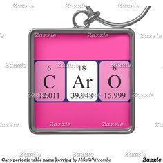 Lara periodic table name magnet periodic table and magnets caro periodic table name keyring silver colored square key ring urtaz Images