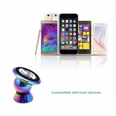 Find More Holders & Stands Information about Universal Magnetic Mobile Phone Holder 360 Degree Rotary for iPhone 6/6 Plus Samsung Galaxy Note 5,High Quality 360 degree,China magnetic mobile phone holder Suppliers, Cheap mobile phone holder from ElectronicGeek Store on Aliexpress.com