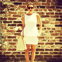 Louis Vuitton Neverfull & Summer Dress