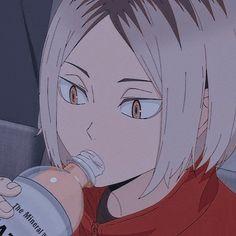 Kenma Kozume, Kuroken, Haikyuu Characters, Anime Characters, Scene Couples, I Icon, My Hero Academia Manga, Haikyuu Anime, Aesthetic Anime