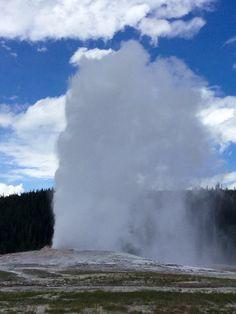 Old Faithful Geyser, Yellowstone Old Faithful, Love Photography, Niagara Falls, Pictures, Travel, Outdoor, Photos, Outdoors, Viajes