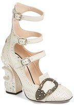 4f0e1e5411f Gucci Women s Queercore Embellished Gladiator Pump - ShopStyle · Heeled  BroguesGladiator ...