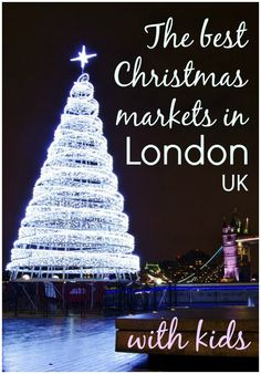 Finding the best Christmas markets in London with kids: the rides of Winter Wonderland, quirky stalls of the Southbank & more festive days out for families Christmas Days Out, Best Christmas Markets, Christmas Markets Europe, London Christmas, Christmas Travel, Holiday Travel, Ireland In Winter, Ireland With Kids, Days Out In London