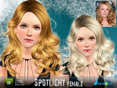 """""""SpotLight"""" by Newsea.  Subscriber only.  Female for all ages."""