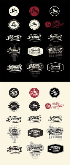 Leonart-Board-logos-OK-alex-Ramon | #corporate #branding #creative #logo #personalized #identity #design #corporatedesign < repinned by www.BlickeDeeler.de | Have a look on www.LogoGestaltung-Hamburg.de
