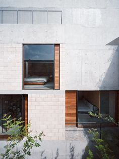 enochliew: AS Building by Ambrosi Etchegaray Patios allowed the units to be naturally lit and ventilated.