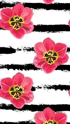 New Flowers Wallpaper Iphone Backgrounds Design Ideas Colorful Wallpaper, Flower Wallpaper, Pattern Wallpaper, Wallpaper Backgrounds, Iphone Wallpaper, Tumblr Wallpaper, Iphone Backgrounds, Computer Screen Wallpaper, Paper Ipad