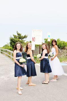 Bride and Bridesmaids Ready To Go